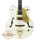 Brand New Gretsch G6136B-TP-AWT Tom Petersson Signature White Falcon Bass