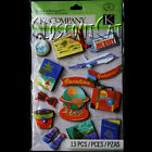 KCOMPANY Happy Trails Passport Travel Gr Adhesions STICKERS PACK Trip Vacation