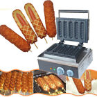 Electric Non-Stick Muffin Hot Dog Lolly Waffle Maker Sausage Baking Machine Oven