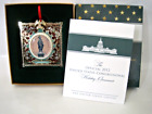 Official 2012 United States Congressional Holiday Ornament Obama White House