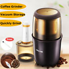 Electric Coffee Grinder Burr Spice Mill Bean Nut Grain Grinding Crusher Machine