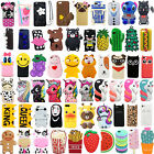 Hot 3D Cute Cartoon Soft Silicone Phone Case Cover Back For iPhone SE 5 5S 5C