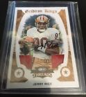 Jerry Rice 2009 Gridiron Kings - Double Jersey and Auto Serial #'d 10 10