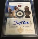 Jerry Rice National Treasures Emblems of the Hall Auto Serial #'d 3 5