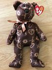 TY 2006 SIGNATURE BEAR BEANIE BABIES WITH TAG