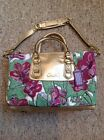 Coach Ashley Floral Purse Satchel Style F16177