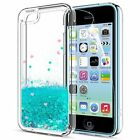 iPhone 5C CaseiPhone 5C Liquid Case with HD Screen Protector for Girls Women
