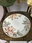 fitz and floyd Fleur Fantasia Peach Porcelain Dinner Plate