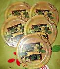 5 Pks. of 8 each (40 total) Chritsmas Deer Snack Paper Plates Jo-Ann Best NIPs