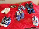 Child Of Mine Tender Toes Mini Star Wee Walker Baby Shoe Lot 8 Pairs Boys Shoes