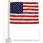 USA Car Window Flag American Patriotic 11x14 Highest Quality on the Market