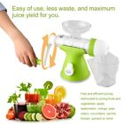 Manual Hand Crank Juicer Slow Grinding Fruits Vegetables Juice Extractor OI