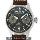 IWC Big Pilot Annual Calendar Steel 46mm Grey Spitfire Dial IW5027-02 NIB