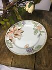 Fritz And Floyd Peach Fleur Fantasia Salad Plate Lot Of 2