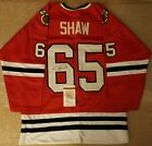 Andrew Shaw Chicago Blackhawks Signed Custom Jersey JSA Witnessed COA