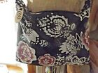 Whiting And Davis Mesh Floral Abstract Design Bag