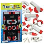 Magnet Science Kit For Kids Educational Toys Project Experiment Girls Boy 24 Pcs