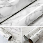 New Marble Contact Paper Self Adhesive Glossy top Peel Stick Wallpaper Roll NJUS