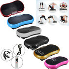 VIBRATION PLATE PLATFORM 500W FIT MACHINE BODY SHAPER EXERCISE MASSAGE VIBRO