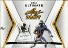 2012 LEAF ULTIMATE FOOTBALL SEALED HOBBY BOX 3 AUTOS PER BOX