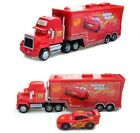 Disney Pixar Car No95 Mack Racers Truck  Lightning McQueen Toy Car 155 Loose