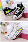 New Pokemon cosplay High to help canvas shoes leisure