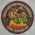 Waco Section Royal Rangers Patch Man vs Wild 2008 Round Up