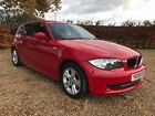 BMW Series 1 118D SE E87 2008 Red Diesel MOT to Dec 2018 30 Year Tax