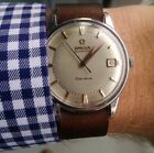Vintage Omega Geneve Watch Stainless Steel Automatic Date