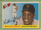 PSA 6 EX-MT ⚾ 1955 TOPPS CARD #194 WILLIE MAYS HOF GRADED VINTAGE CLASSIC GIANTS