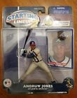 2001 starting lineup 2 ANDRUW JONES figurine atlanta braves