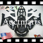 For Yamaha YZF600R 1998-2004 Fairing Bodywork ABS Plastic Kit Black 4n1 PA