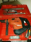 Hilti TE 80-ATC AVR Combihammer sds hammer drill 110V with drills and chisels