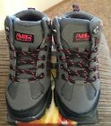 New in box Air Balance Youth Girls Hiking Shoes Black Grey Coral Size 1