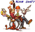 bloom county / bill the cat t-shirt the whole gang