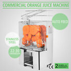 Commercial Electric Orange Squeezer Juice Fruit Maker Hotels Bar Auto Feed