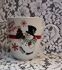 2011 FITZ AND FLOYD TOP HAT SNOWMAN MUG MERRY & BRIGHT WINTER HOLIDAY CHRISTMAS
