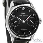 IWC Portugieser Automatic 7 Day Power Reserve IW500109 43mm Black Dial Watch