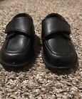 Baby Boy Size 4 Black Dress Shoes Smart Fit Infant Toddler Formal