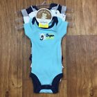 Preemie NWT 3 Pc Set Bodysuits Puppy Dog Baby Boy Carters Free Ship