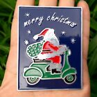VINTAGE VESPA BADGE CLUB ACMA AD PART scooter logo GS christmas gift ideas SANTA