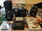 Nikon d5200 with 3 Lens and extras