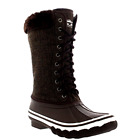 Boots Outdoor Cold Weather Winter Womens Snow Rain Waterproof Fold Down Size 10