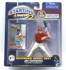 Jim Edmonds St Louis Cardinals 2001 Extended Starting Lineup 2 SLU Figure