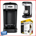 Coffee Maker Single Cup Compatible Single Serve Any K-Cup Plus One Scoop One Cup