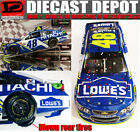 JIMMIE JOHNSON 2017 TEXAS WIN RACED VERSION LOWES 1 24 ACTION