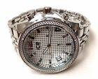 Mens Fashion Watch Ice Master BM1164 Silver Bracelet Band Silver Dial WR 1 ATM