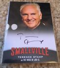 TERENCE STAMP 2012 Cryptozoic Smallville Seasons 7-10 AUTO A14 Signed Autograph
