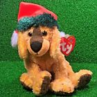 Ty Beanie Baby Jinglepup The Dog 2000 Retired With Christmas Santa Hat MWMT