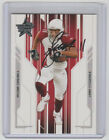 LARRY FITZGERALD Signed 2005 Leaf Rookies & Stars #3 Autograph ON CARD AUTO
